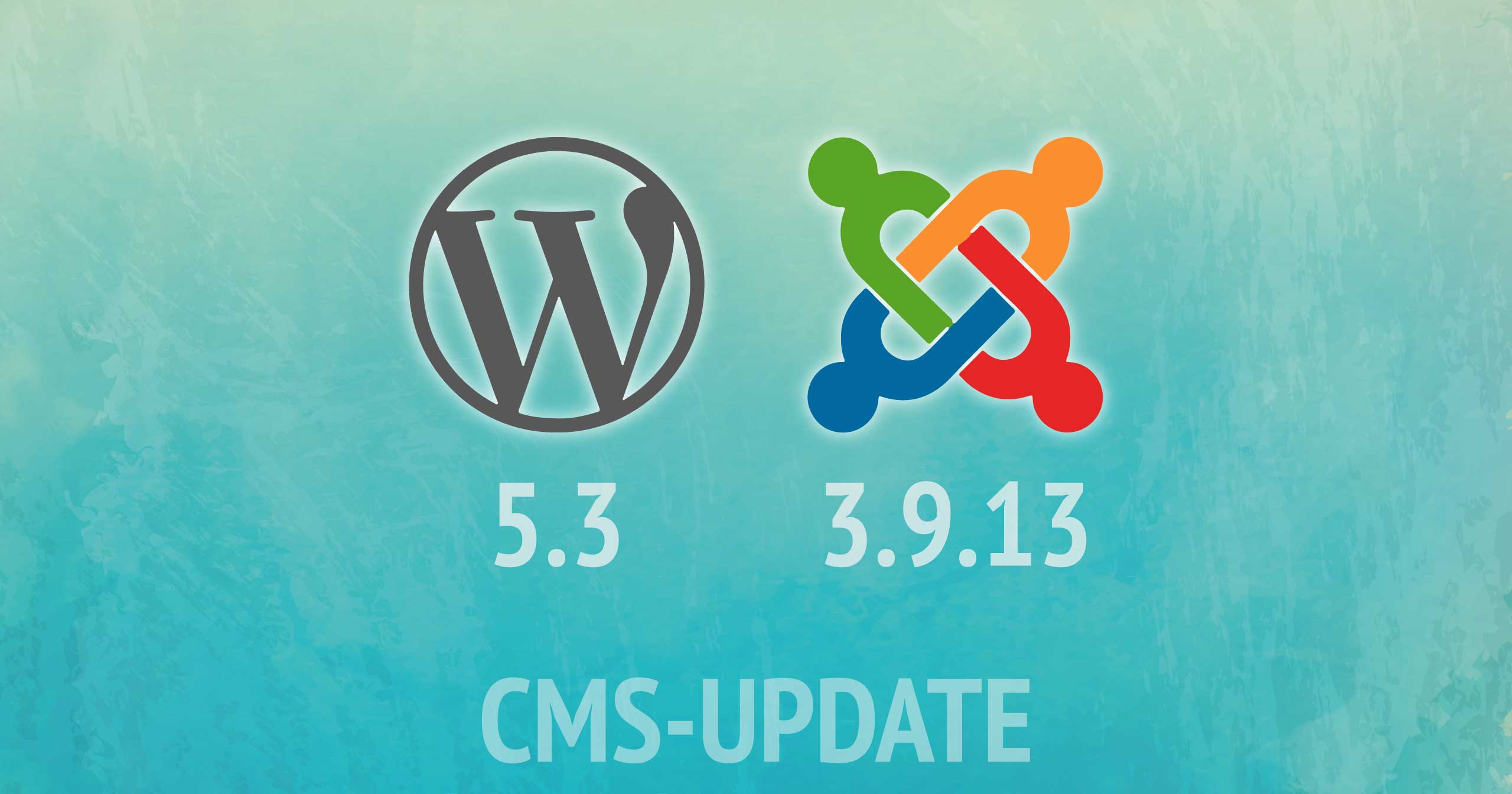 CMS-Updates WordPress & Joomla! November 2019 | Beitragsbild