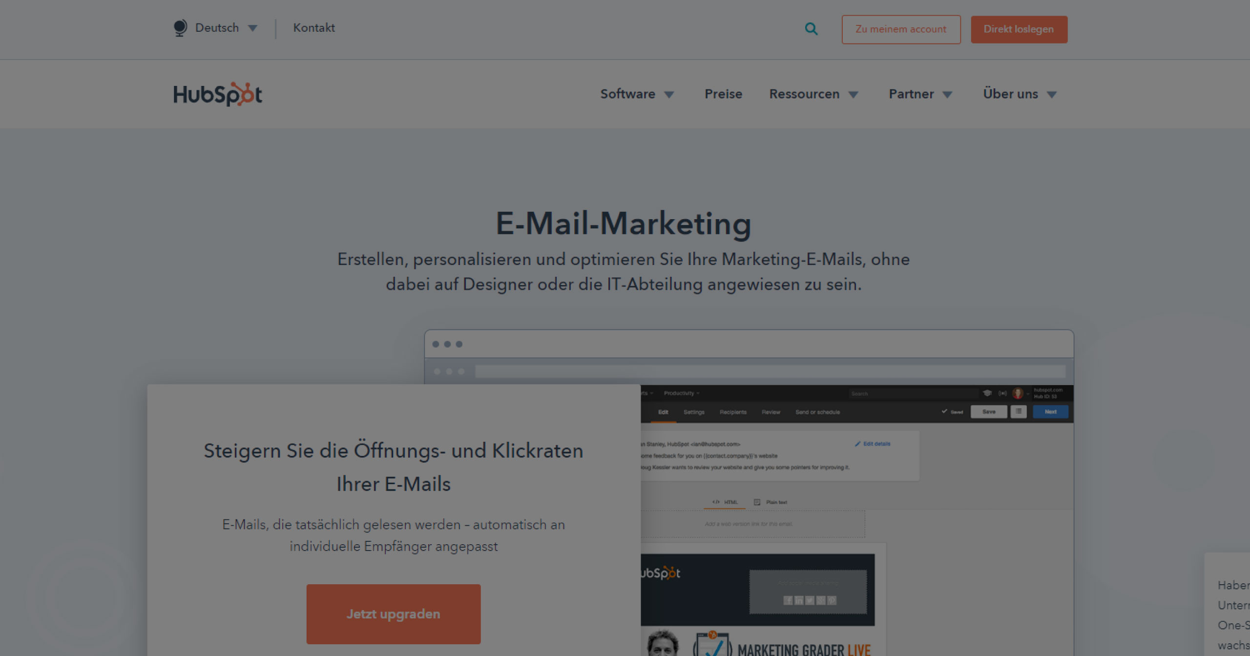 Hubspot E-Mail-Marketing | Beitragsbild