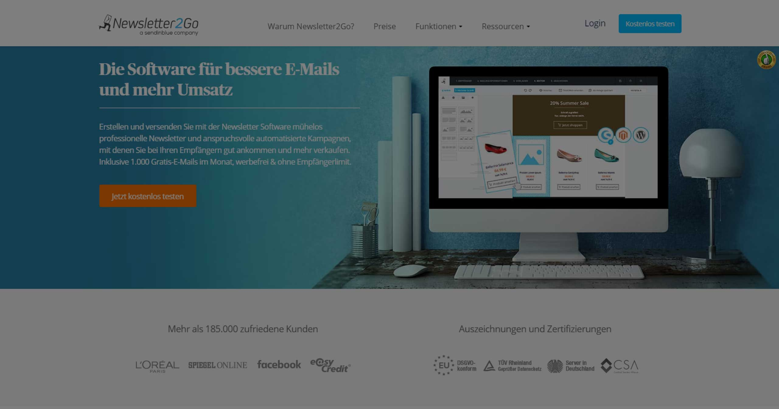 Newsletter2Go E-Mail-Marketing | Beitragsbild