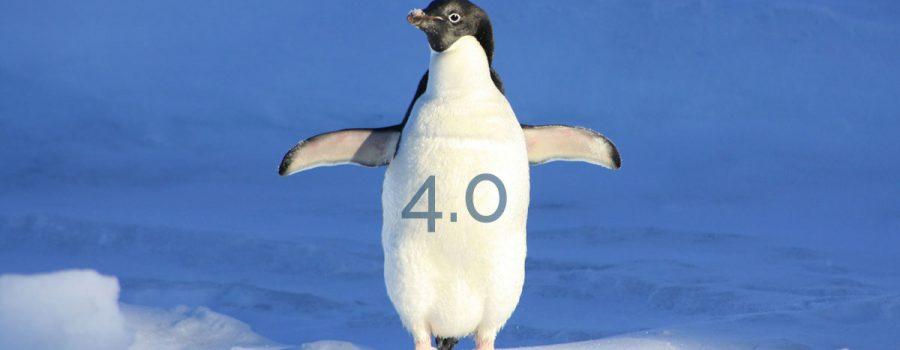Google Penguin Update 4.0 ausgerollt - Beitragsbild